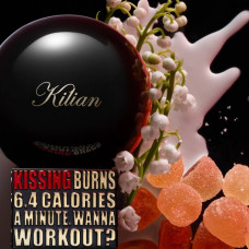 Z23- Kissing Burns 6.4 Calories An Hour. Wanna Work Out? By Kilian